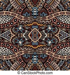 Tribal seamless vector pattern ornamental