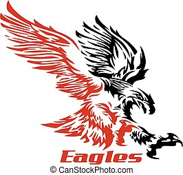 soaring eagle - tribal soaring eagle