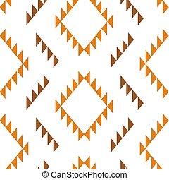 Tribal southwestern native american navajo seamless pattern...