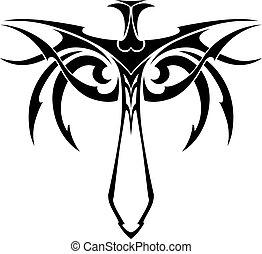 Tribal sword