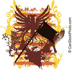 tribal tattoo animal vector art