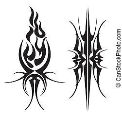 tribal, tatuaje