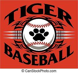 tiger baseball