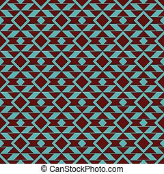 Tribal vector seamless pattern background.