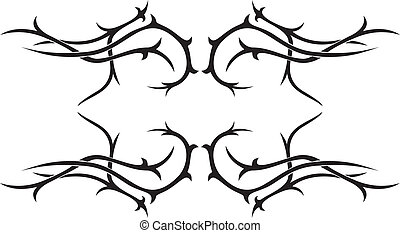 Tribal vector tattoo