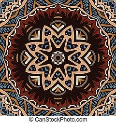 Tribal vintage ethnic seamless pattern ornamental design