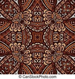 Tribal vintage pattern ornamental
