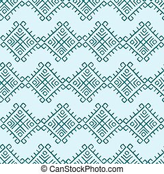 Tribal vintage pattern