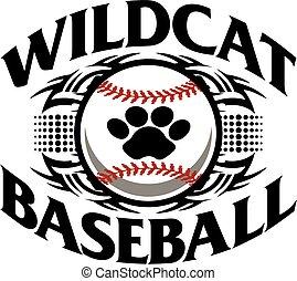 wildcat baseball - tribal wildcat baseball team design with...