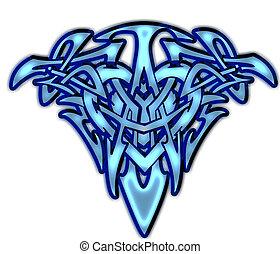 Tribal/Celtic Heart