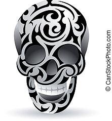 tribale, cranio