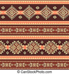 tribale, vendemmia, etnico, seamless