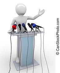 tribune, orador