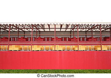 Tribunes at stadium