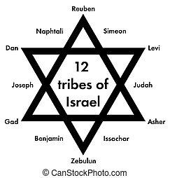 tribus, israël, 12