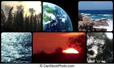 Tribute to planet earth - Wonderful earth, montage