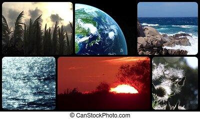 Wonderful earth, montage