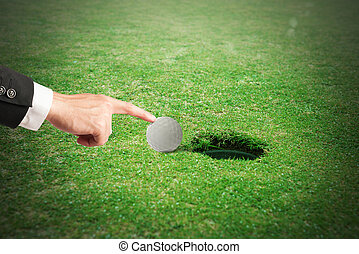 tricherie, golf