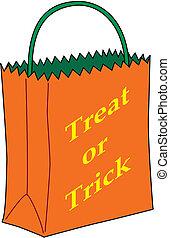 Trick-or-treat bag