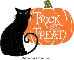 Trick or Treat Cat