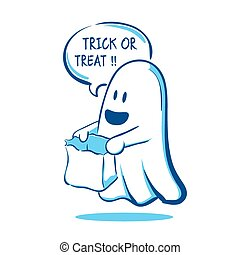 Trick or Treat Ghost
