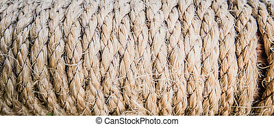 trickle twisted rope, panorama