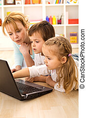 Tricks of the trade - kids learning computers - Tricks of...