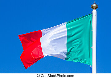 Tricolor flag of Italy