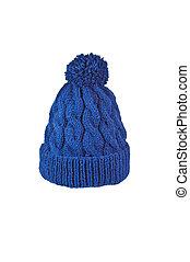 tricoté, chapeau, fait main