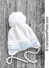 tricotado, chapéu