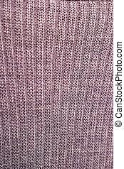 tricotado, cinzento, textura, tecido, fundo