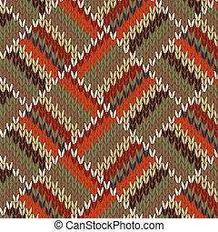 tricotado, padrão, seamless