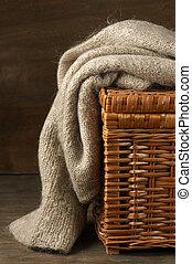tricotado, suéter
