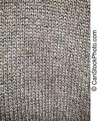 tricotado, textura, tecido, fundo