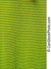 tricotado, textura, verde, tecido, fundo