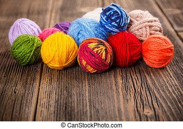 tricotando, fio