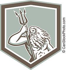 trident, 海王星, 保護, 保有物, レトロ