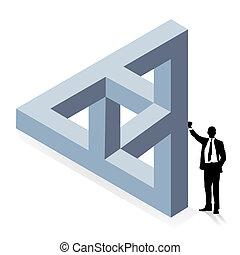 tridimensionale, costruzione