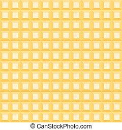 tridimensionnel, lumière, grand, modèle, orange, carrés