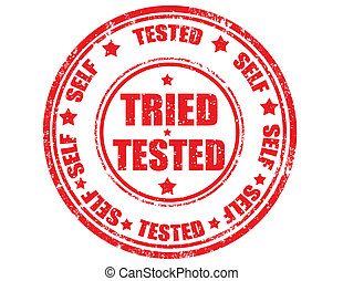 Tried-Tested -stamp