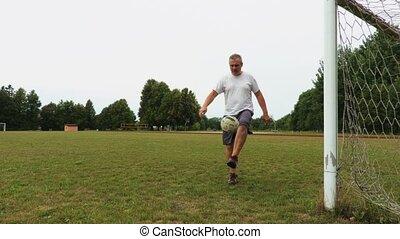 tries, balle, amateur, jongler