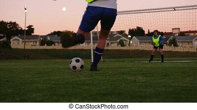 tries, gardien, football, femme, quoique, prise, il, points...