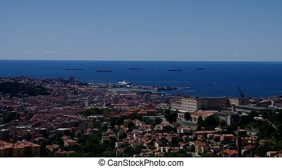 Trieste aerial view - Trieste, aerial view