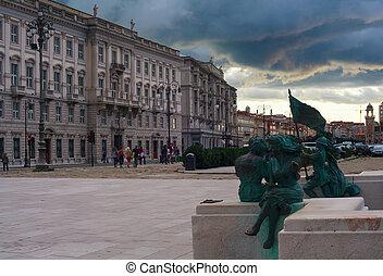 Trieste - TRIESTE, ITALY - SEPTEMBER, 22: View of Trieste ...