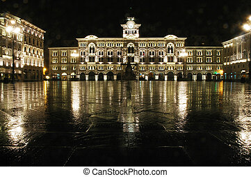 Trieste, piazza Unita  d'Italia
