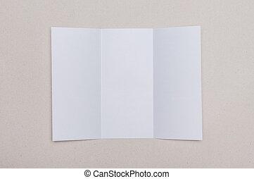 tri fold background