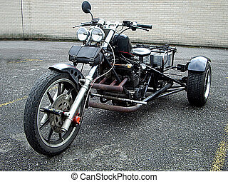Trike - Black Motortrike