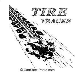 trilhas pneu