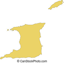 Trinidad and Tobago, Island - Trinidad and Tobago Island,...
