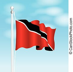 Trinidad and Tobago national flag